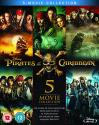 Pirates of the Caribbean 1-5 Blu-ray